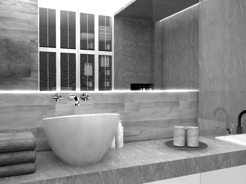 Łazienki projekt
